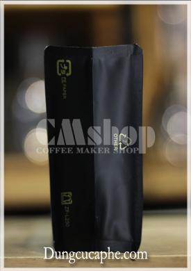 Đáy túi zip 250g màu đen