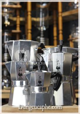 Đại gia đình ấm Moka Express 3-6-9-12-18 cup chính hãng Bialetti
