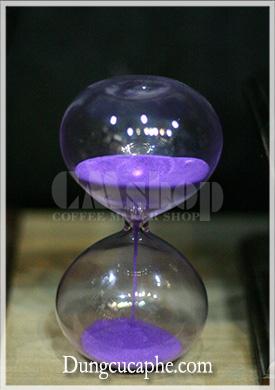 Đồng hồ đo thời gian Syphon màu tím