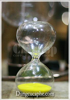 Đồng hồ đo thời gian Syphon màu vàng