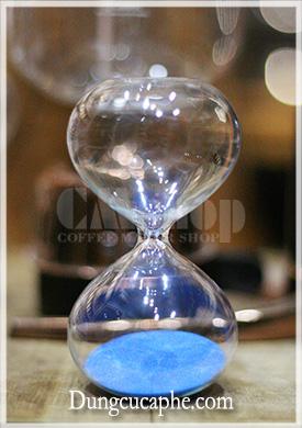 Đồng hồ đo thời gian Syphon màu xanh dương