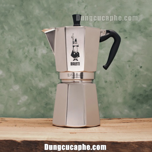 Ấm Bialetti Moka Express Made in Italy 12-Cup