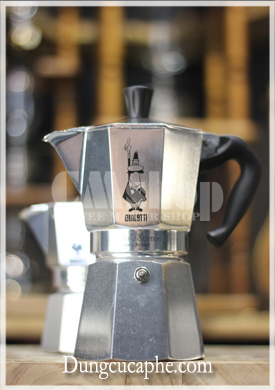 Ấm Moka Express Bialetti 6 cup 300ml