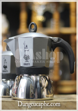 Ấm cafe Bialetti Moka Induction 6 cup