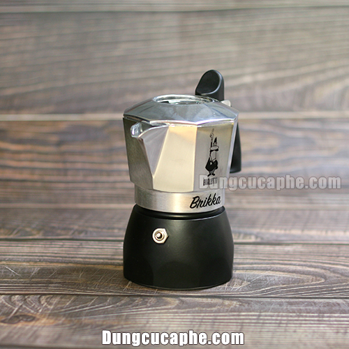 Ấm pha Moka Pot Brikka 2019 Made in Romania