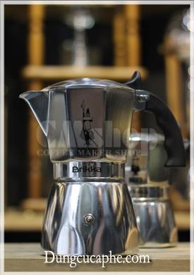 Ấm pha cà phê Espresso Moka Pot Bialetti Brikka 4 cup