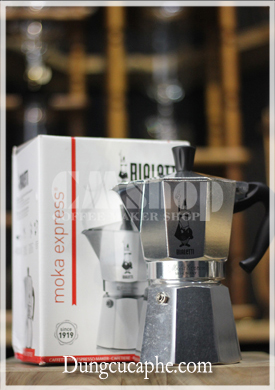 Ấm pha cà phê Moka Pot Bialetti 6 cup 300ml – Pha Espresso tại nhà quá đơn giản