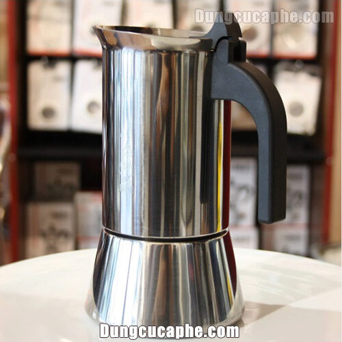 Ấm pha cà phê bằng thép Moka Bialetti Venus Induction 6 cup
