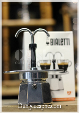 Ấm pha cafe Moka Bialetti Mini Express 2 cup