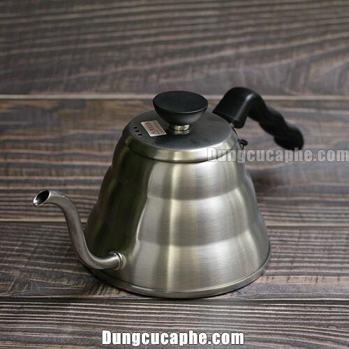 Ấm rót cà phê Pour Over Hario Buono 1L có thể đun trên mọi loại bếp