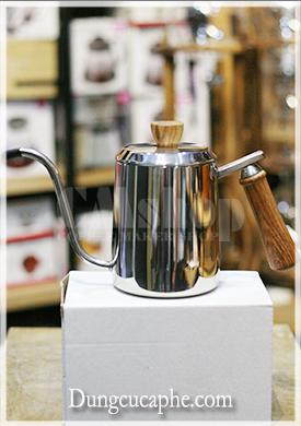 Ấm rót cà phê tay gỗ 600ml chuyên dụng cho Pour Over giá rẻ
