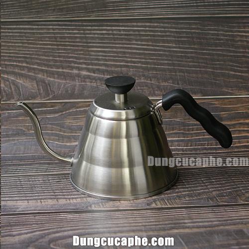 Ấm rót cà phê thép 1L giá rẻ