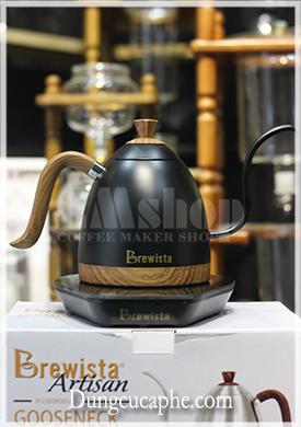 Ấm rót drip Brewista Artisan 0.6l kiểm soát nhiệt độ thời gian thực