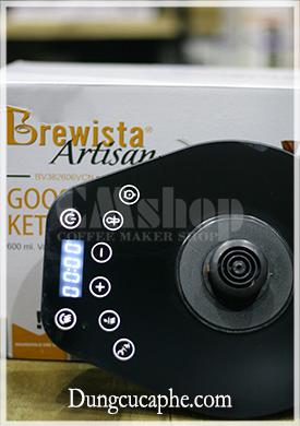Ấm rót và đun cà phê Brewista với bếp đun cảm ứng