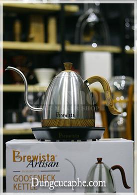 Ấm rót và đun cà phê Drip Brewista Artisan 0.6L kiểm soát nhiệt độ