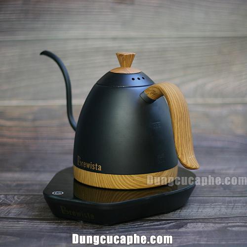 Ấm rót và đun cổ ngỗng Brewista Artisan pha cà phê drip V60