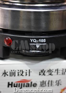 Bếp điện mini núm chỉnh 5 cấp độ nhiệt cố định, tăng dần thích hợp cho nhiều nhu cầu đun nóng cố định, tăng dần thích hợp cho nhiều nhu cầu đun nóng