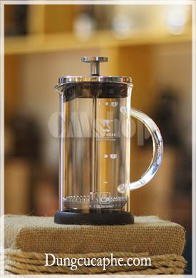 Bình pha trà và cà phê French Press sang trọng