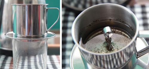 Cách pha cà phê phin truyền thống 4