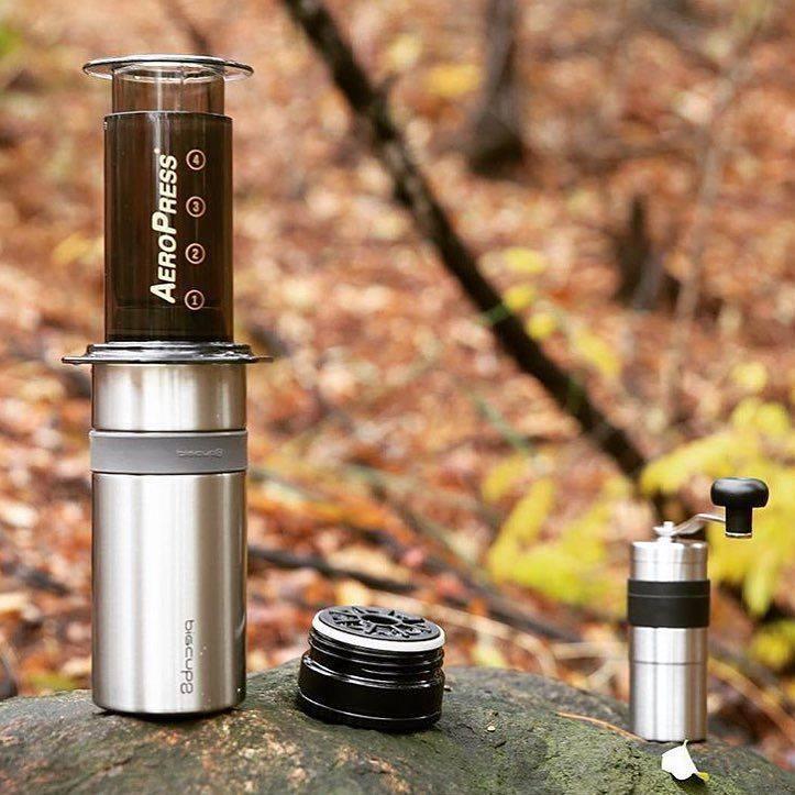 Aeropress là dụng cụ cà phê mang đi du lịch