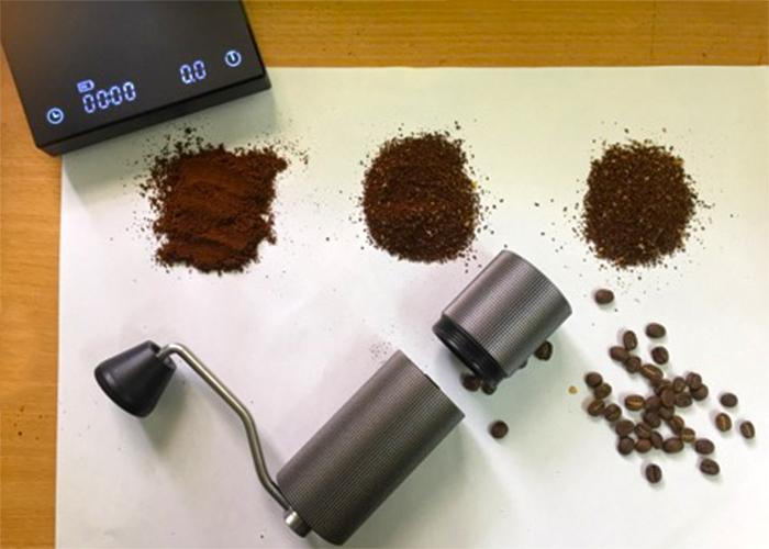 Kích cỡ hạt xay các kiểu pha cà phê khác nhau máy xay tay Timemore Lite