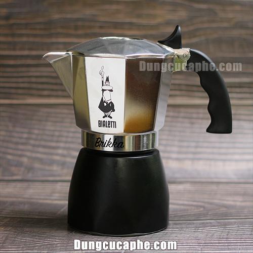 Ấm pha cà phê Espresso Moka Brikka 4cup 170ml phiên bản 2021