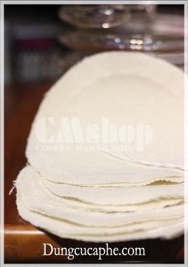 Bán tấm vải lọc thay thế cho bình Syphon