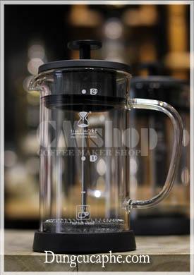 Bìn pha cà phê French Press Time More 350ml phiên bản 2