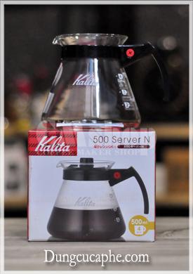Bình đựng cà phê Kalita 500ml Nhật bản