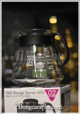 Bình đựng cà phê hario XDV-60B