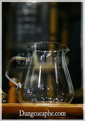 Bình đựng cà phê thủy tinh IC 600ml