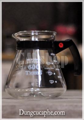 Bình đựng cà phê thủy tinh Tiamo HG 2305 650ml
