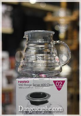Bình đựng cà phê Hario thủy tinh