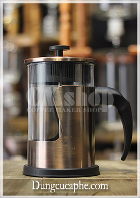 Bình french press 800mll hãng Time More bọc đồng