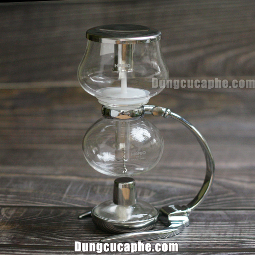 "Bình pha Syphon Hario ""Miniphon"" 1 Cup 120ml DA-1SV made in Japan"