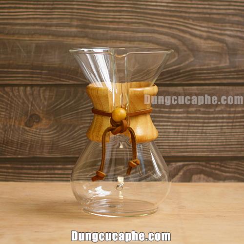 Bình pha cà phê Chemex 6 cup cổ điển – Made in USA