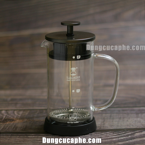 Bình pha cà phê French Press 300ml hãng Time More