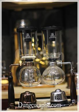 Bình pha cà phê Syphon Timemore Xtremor Rose Gold Limited Edition vs Syphon Timemore 3 cup bản nâng cấp 2.0