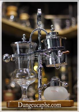 Bình pha cà phê cân bằng syphon Time More bạc
