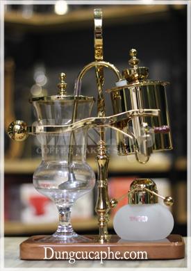 Bình pha cà phê cân bằng syphon Time More vàng