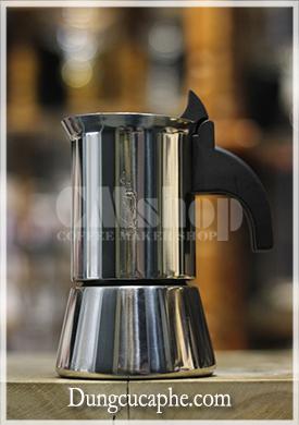 Bình pha cà phê kiểu Ý Moka Bialetti Venus 2 cup - thép không gỉ