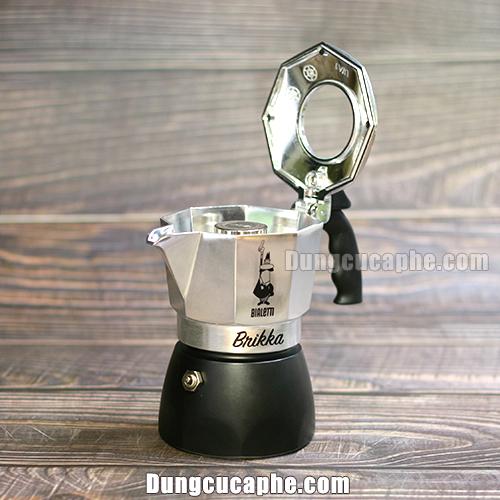 Bình pha cà phê kiểu ý Moka Pot Brikka 2 cup