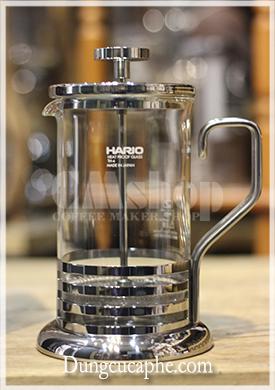 Bình pha cà phê kiểu Pháp Coffee Fress Hario 600ml