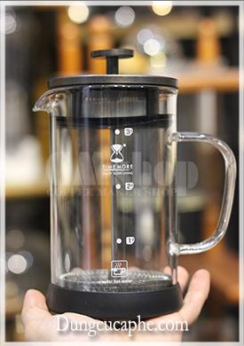 Bình pha cà phê nén kiểu Pháp French Press Time More 600ml bản 2.0