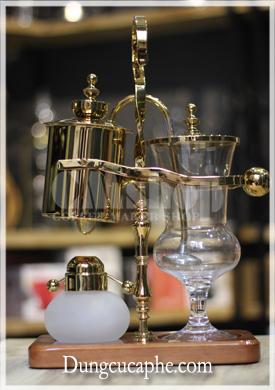 Bình pha cà phê syphon đôi cân bằng Time More vàng
