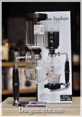 Bình pha cà phê syphon Hario thủy tinh TCA-3 3 cup nhập khẩu Japan