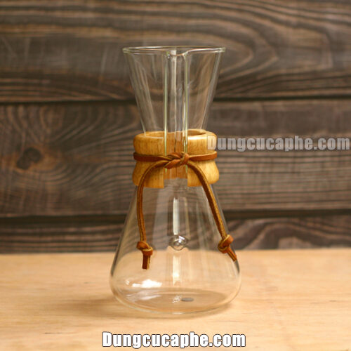 Bình pha cafe Chemex 3 cup cổ điển 600ml – USA