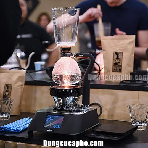 Bình pha cafeSyphon Hario 5 cupNXA-5với dung tích chứa 600ml, Một tác phẩm hoàn hảo mà HARIO