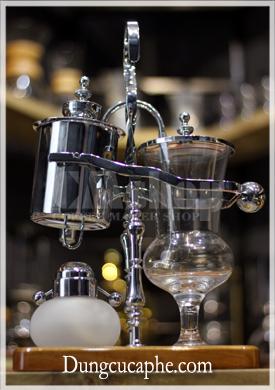 Bình pha cafe cân bằng syphon Time More bạc