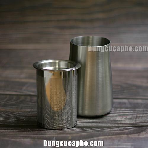 Bình rây bột cà phê mắt lưới lọc nhỏ loại bỏ hầu hết bột mịn